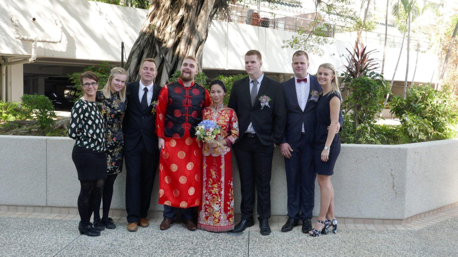 跨文化婚禮